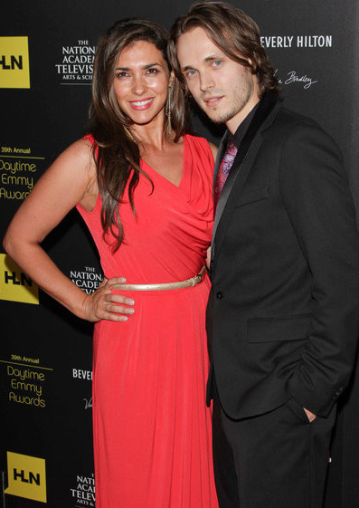 39th Annual Daytime Emmy  Jonathan Jackson And Wife