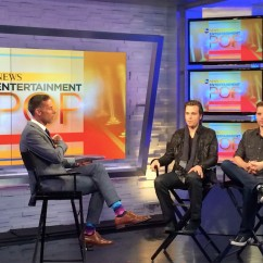 Jonathan Jackson + Enation on Entertainment Pop